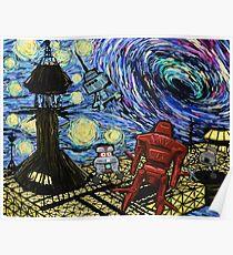 Van Gogh- The Black Hole  Poster