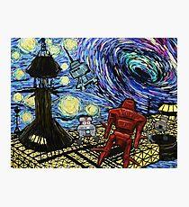 Van Gogh- The Black Hole  Photographic Print