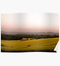 Surrey Sunrise Poster