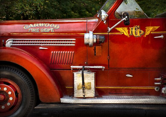 Fireman - Garwood Fire Dept by Mike  Savad