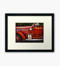 Fireman - Garwood Fire Dept Framed Print