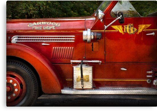 Fireman - Garwood Fire Dept by Michael Savad
