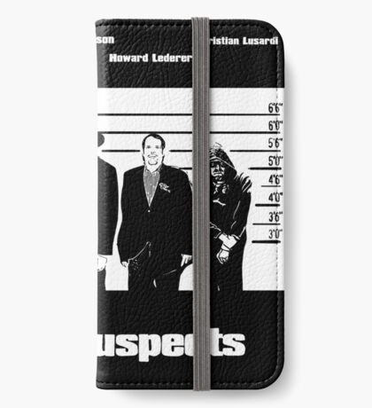 The Usual Poker Suspects iPhone Wallet