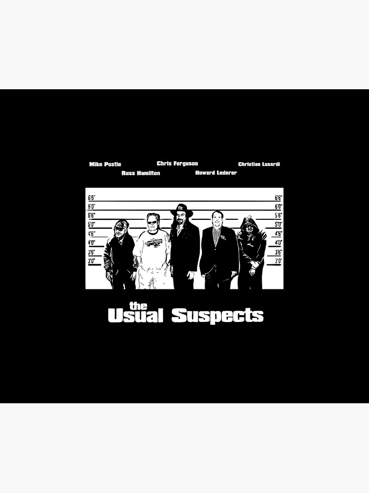 The Usual Poker Suspects by fullrangepoker