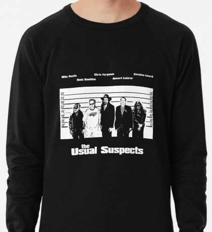 The Usual Poker Suspects Lightweight Sweatshirt