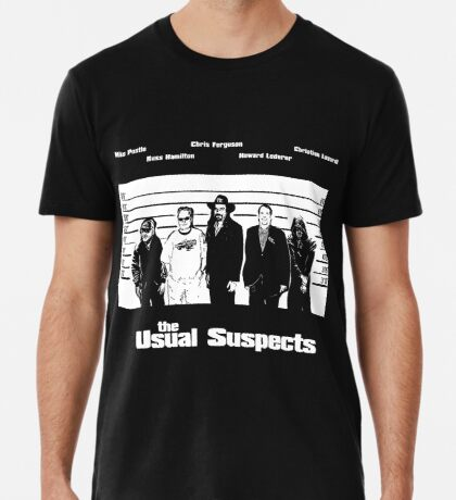 The Usual Poker Suspects Premium T-Shirt