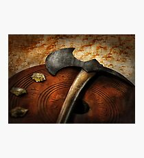 Fireman - The fire axe  Photographic Print
