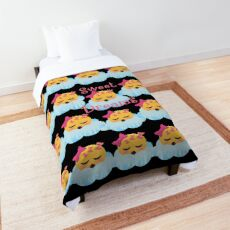Sweet Dreams Emoji JoyPixels Good Night My Love Comforter