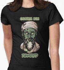 Osama Bin Zombied Womens Fitted T-Shirt