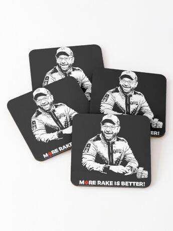 More Rake Is Better Coasters