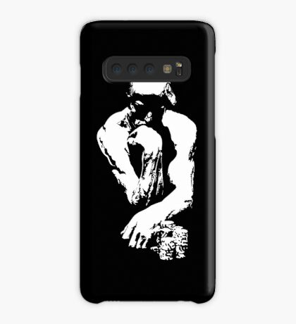 The Thinking Man Poker Case/Skin for Samsung Galaxy