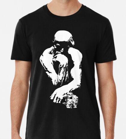The Thinking Man Poker Premium T-Shirt