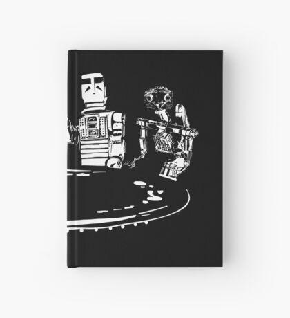 Poker Bots Hardcover Journal