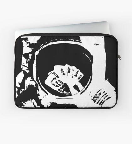 Poker Astronaut Laptop Sleeve