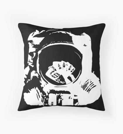 Poker Astronaut Floor Pillow