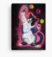 Juggling Cat Canvas Print