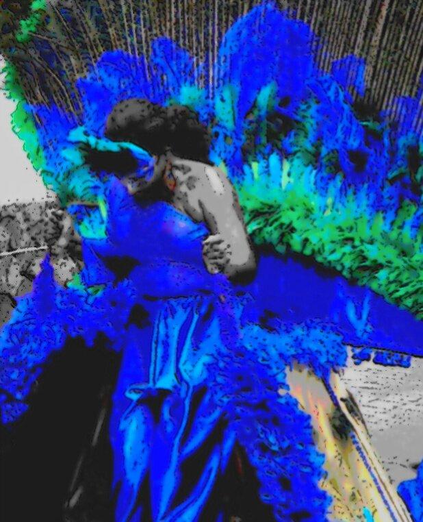 Peacock blue by islefox