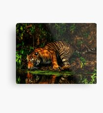Paying homage to the Jungle King Metal Print