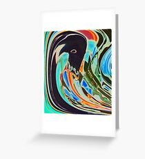 The Black Swans Greeting Card