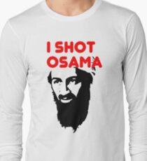 I shot Osama Long Sleeve T-Shirt