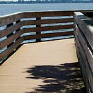 Lake Hancock Pier by Laurie Perry