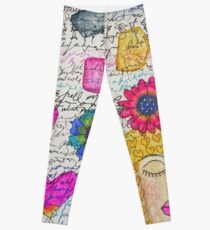 Sleeping Woman Leggings