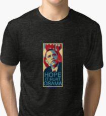 Hope it Hurt Osama Tri-blend T-Shirt