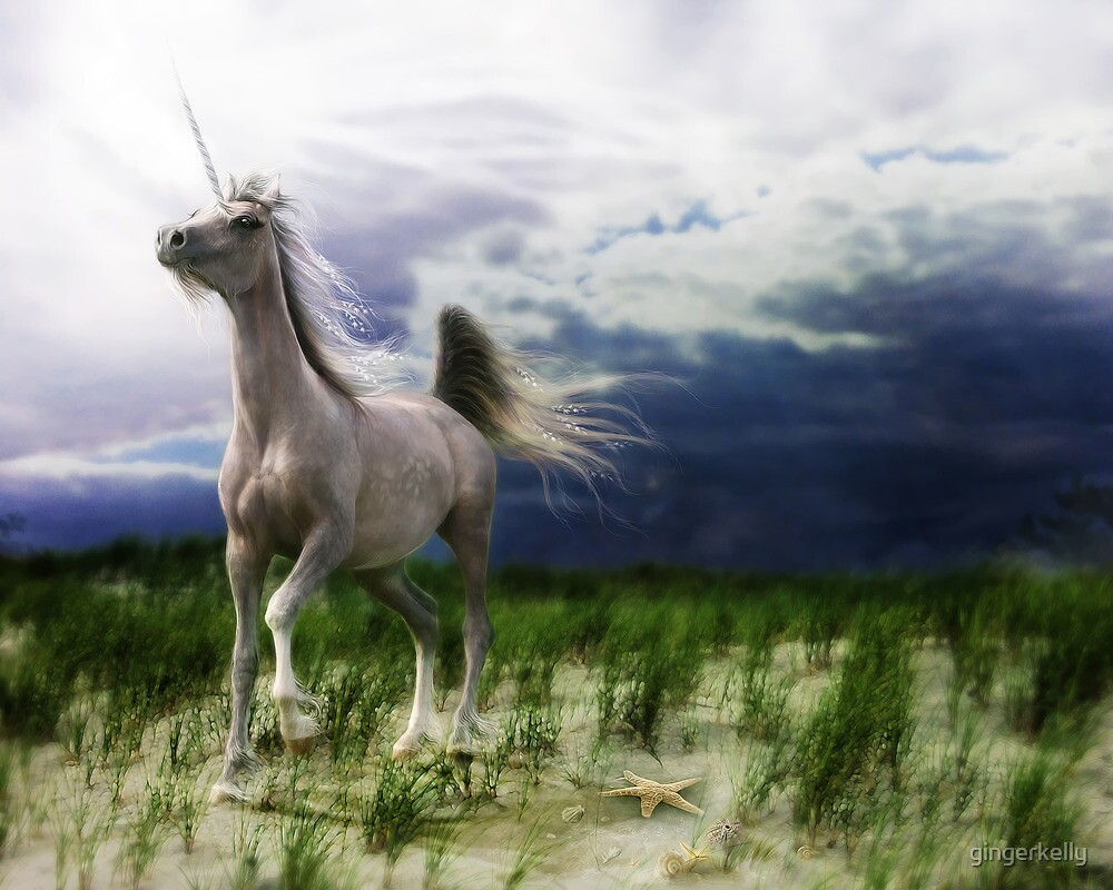 The Stormhorse by gingerkelly