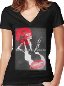 Mirror Mirror Women's Fitted V-Neck T-Shirt
