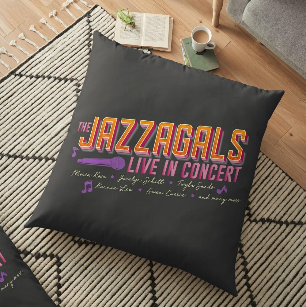 Jazzagals Floor Pillow