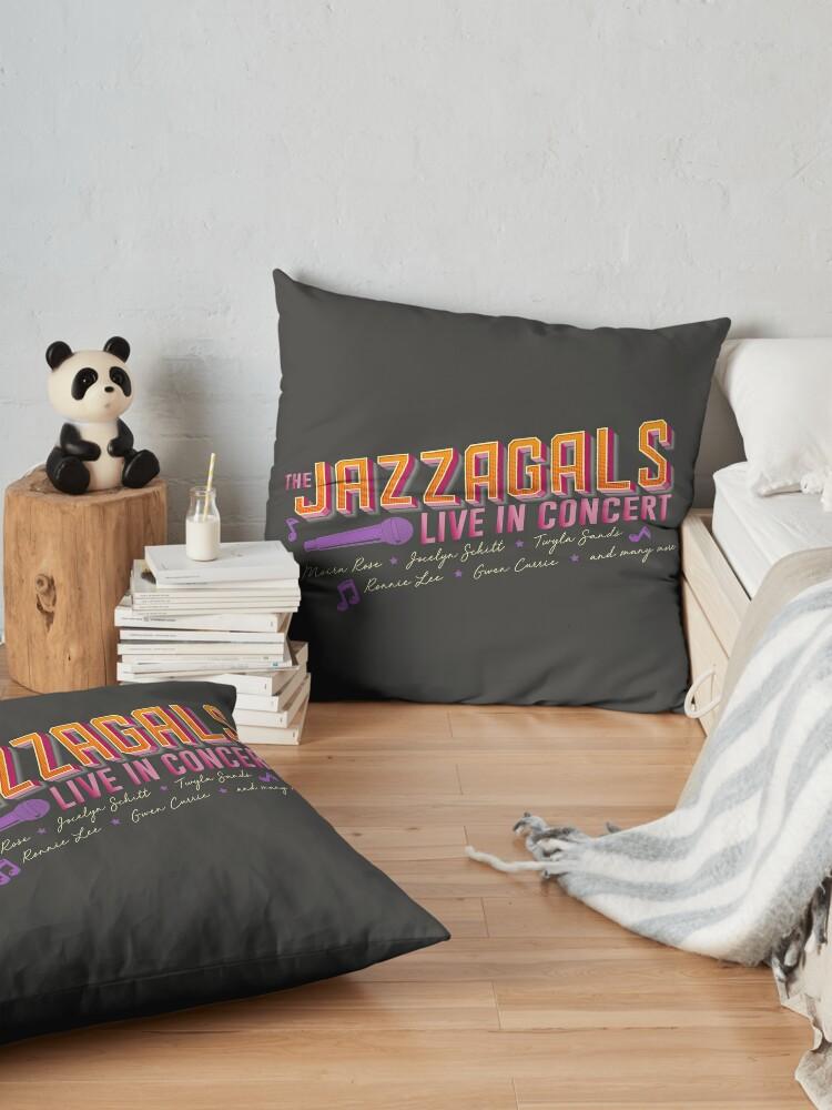 Alternate view of Jazzagals Floor Pillow
