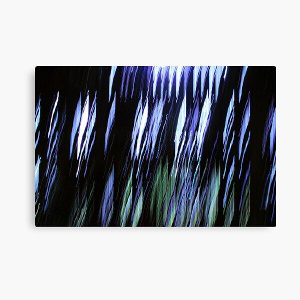 Blue ice - 2 Canvas Print