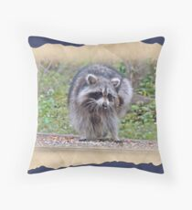 Itching and Scratching Throw Pillow