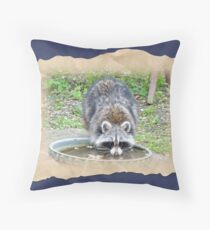 The Watering Hole Throw Pillow