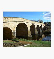 Oldest bridge in Australia-built 1823 - Tasmania Photographic Print