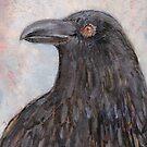 Winter Raven by HeavenSpirit Creations