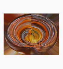 Wooden Bowl Photographic Print
