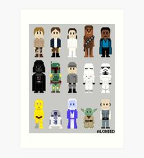 8-Bit ESB Art Print