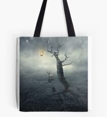 Surrounded By Silence Tote Bag
