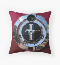 Mustang 07 Throw Pillow