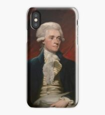 Portrait of President Thomas Jefferson by Mather Brown (1786) iPhone Case