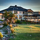 McCracken Resort at Sunset by Dave  Hartley