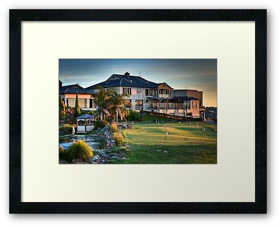 McCracken Resort at Sunset by Dave  Hartley