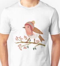 Winter Robin Slim Fit T-Shirt