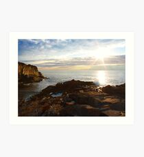 Cliff House, Ogunquit, ME. Art Print