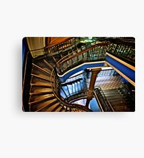 Yes, QVB stairs that I'm appreciate...:Got EXPLORE Featured Work, 6 Featured works Canvas Print