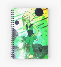 Peridot - Green Spiral Notebook