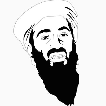 osama bin laden by 2piu2design