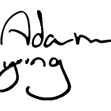 Adam Young signatue by ineslira