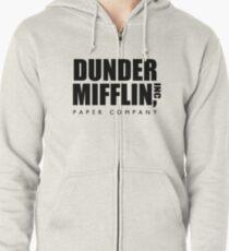 Dunder Mifflin Paper Company  Zipped Hoodie